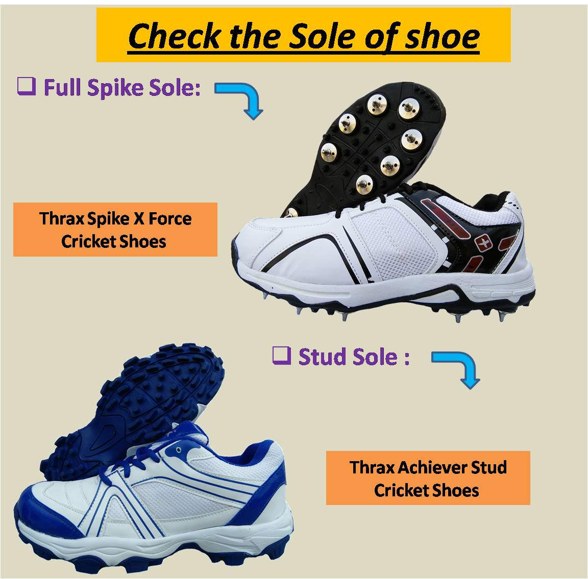 Check the Sole of shoe 4