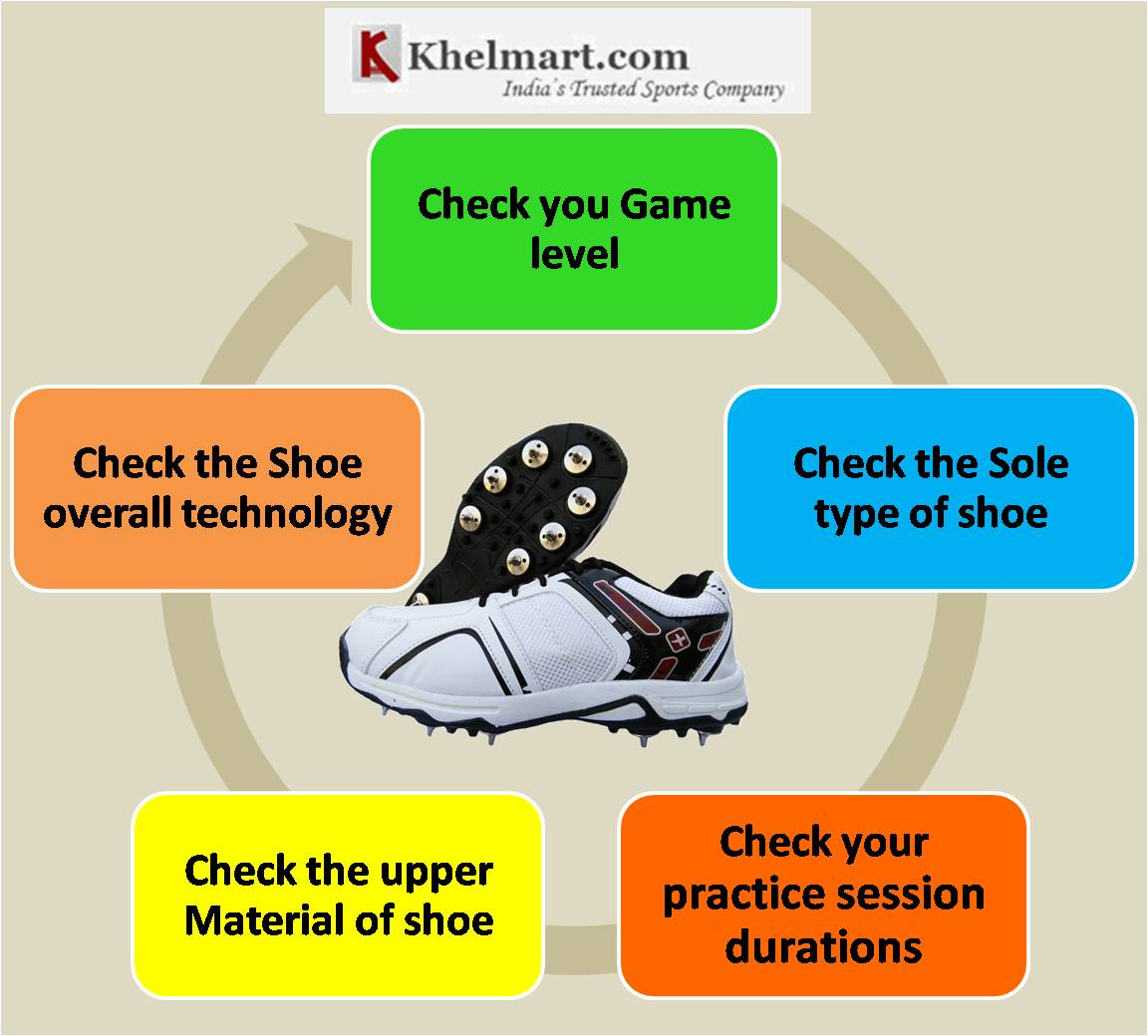 Comprehensive Guide on Cricket Shoes Selection