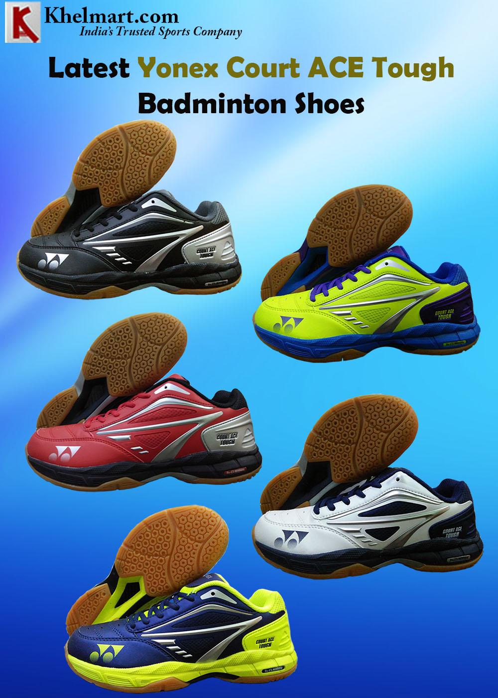 Latest Yonex Court ACE Tough Badminton Racket_1