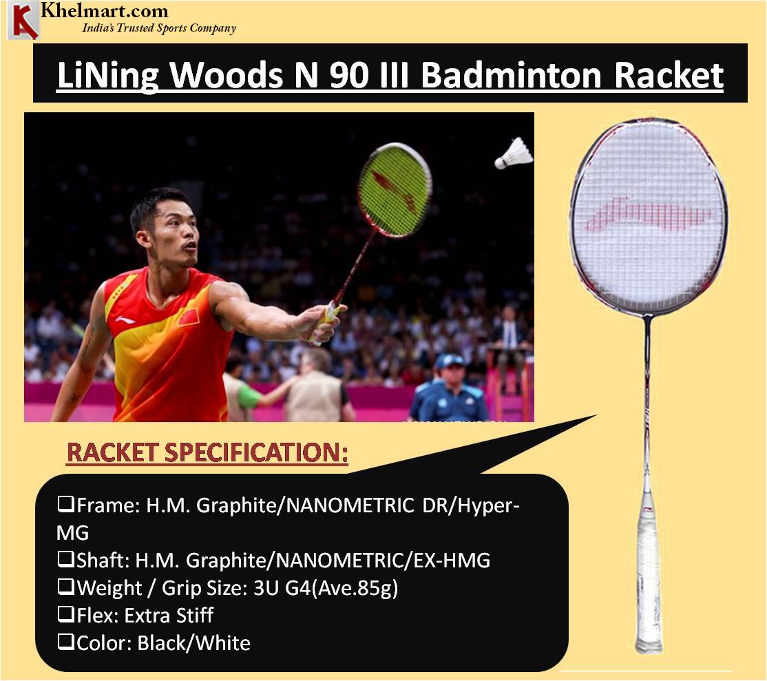 LiNing Woods N 90 III Badminton Racket