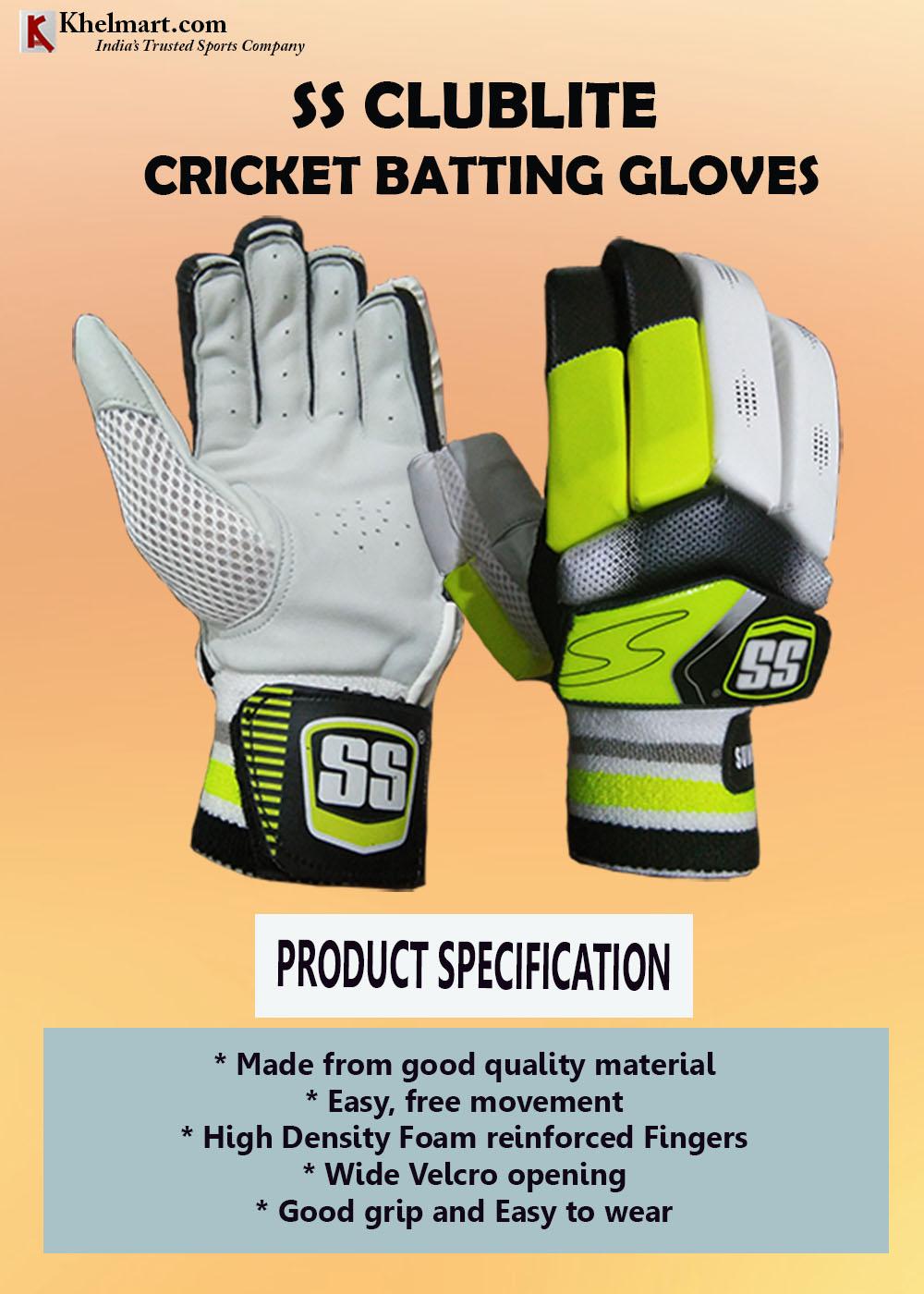 SS ClubLite Batting Gloves