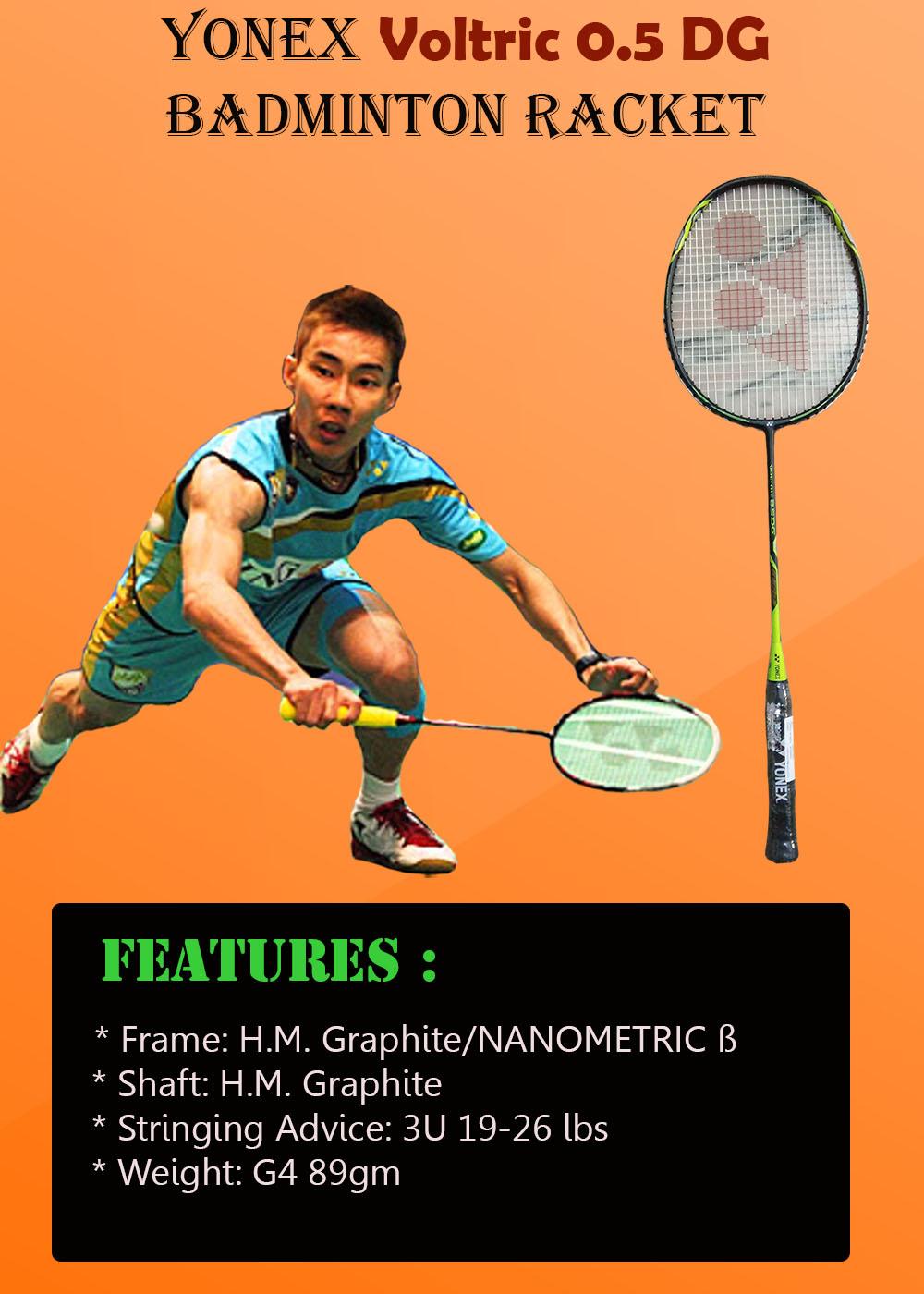 Yonex Voltric 0 5 DG Badminton Racket