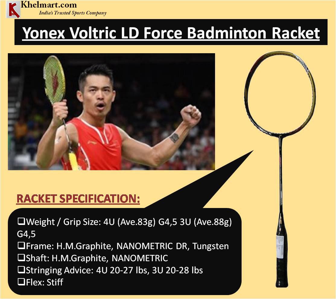 Yonex Voltric LD Force Badminton Racket