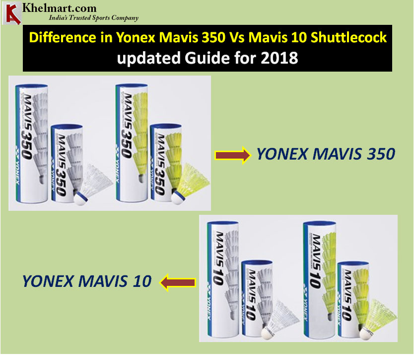 Difference in Yonex Mavis 350 Vs Mavis 10 Shuttlecock updated Guide for 2018