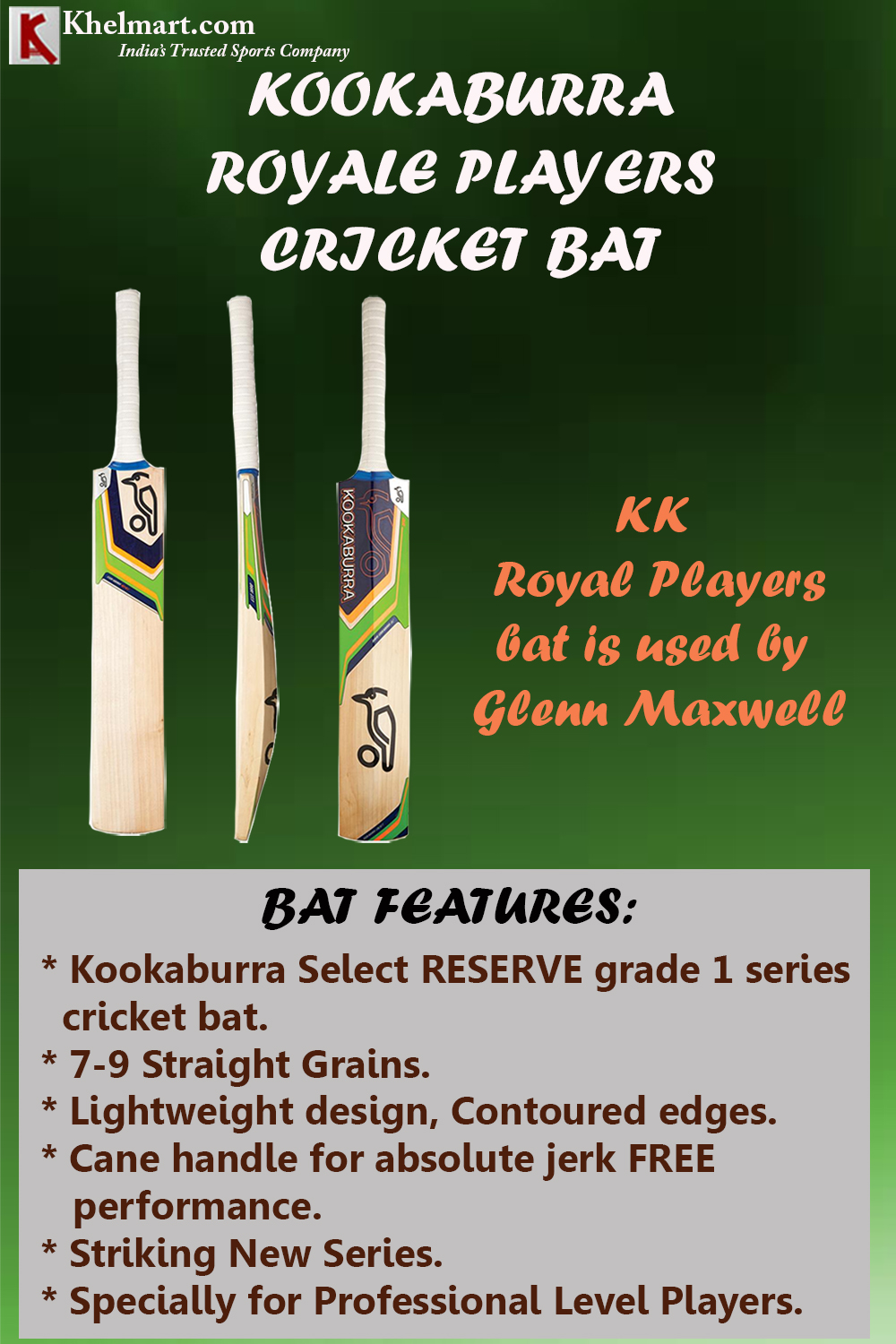 KOOKABURRA ROYALE PLAYERS_3