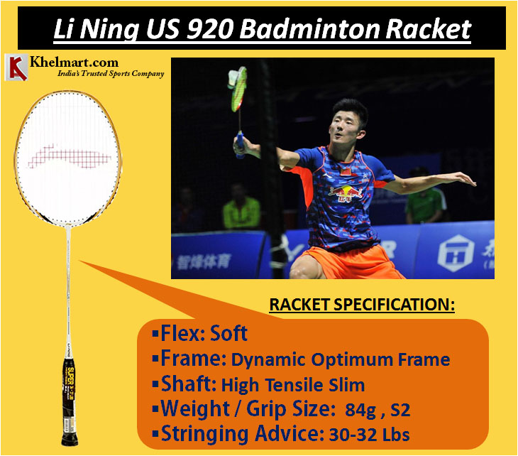 Li Ning US 920 Badminton Racket