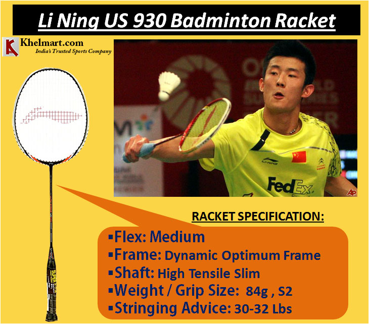 Li Ning US 930 Badminton Racket