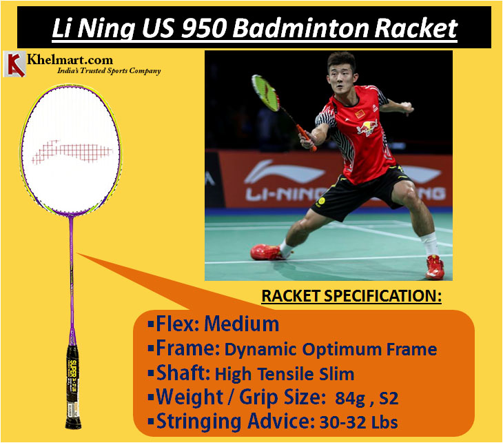 Li Ning US 950 Badminton Racket
