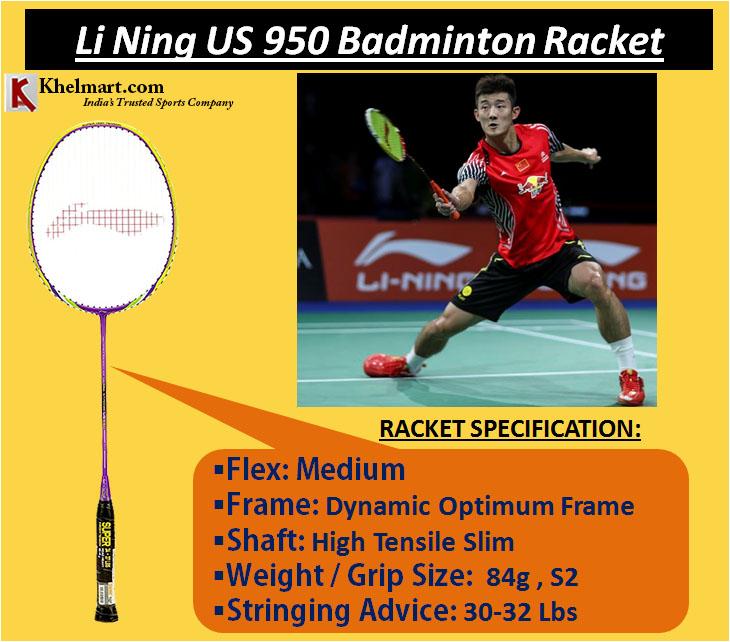 Li Ning US 950 Badminton Racket