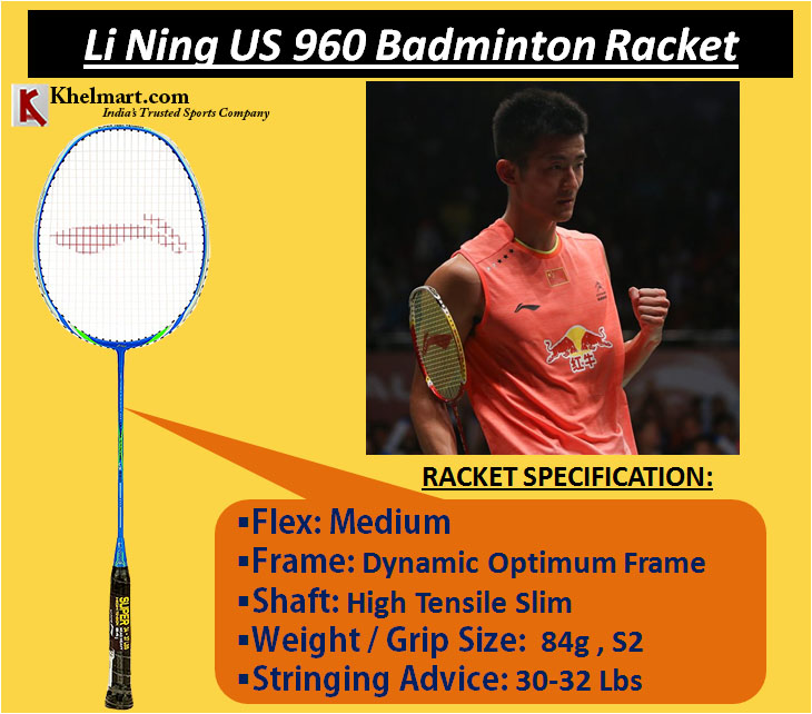 Li Ning US 960 Badminton Racket
