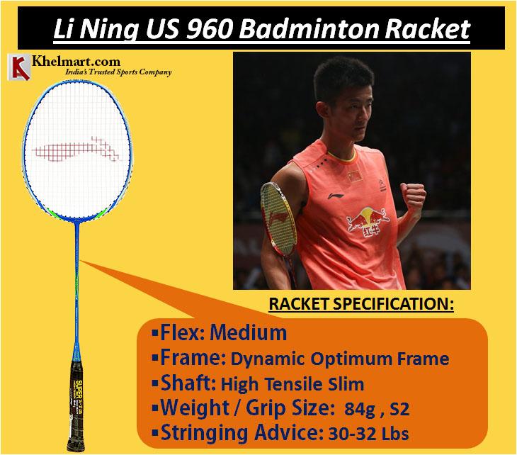 Li Ning US 960 Badminton Racket