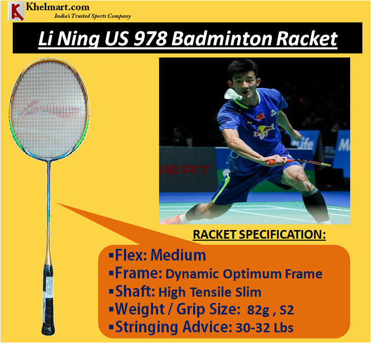Li Ning US 978 Badminton Racket