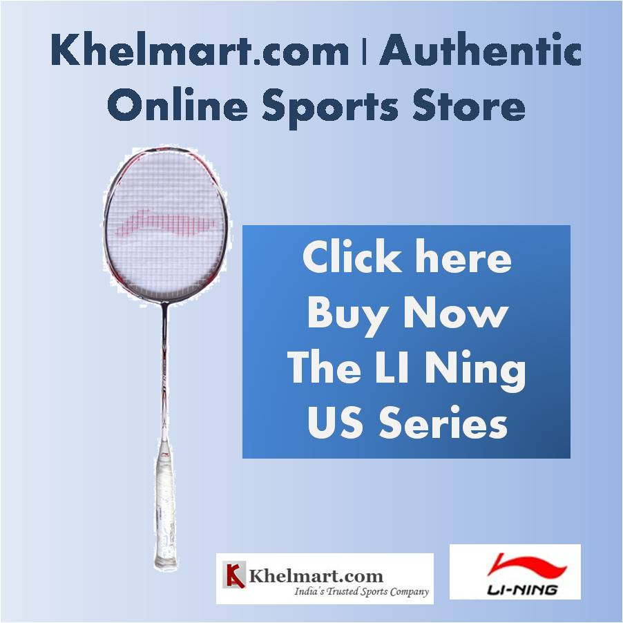 Li Ning US Series Badminton Rackets