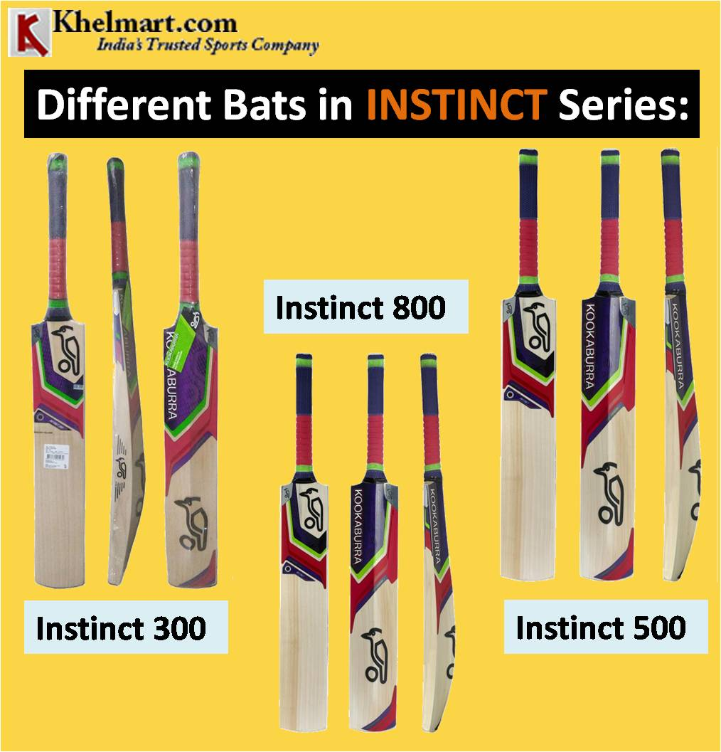 Different Bats in INSTINCT Series
