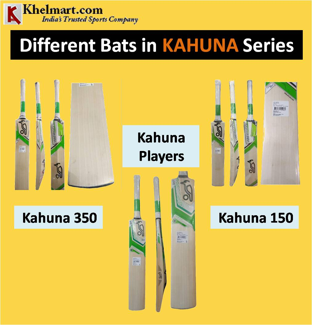 Different Bats in KAHUNA Series