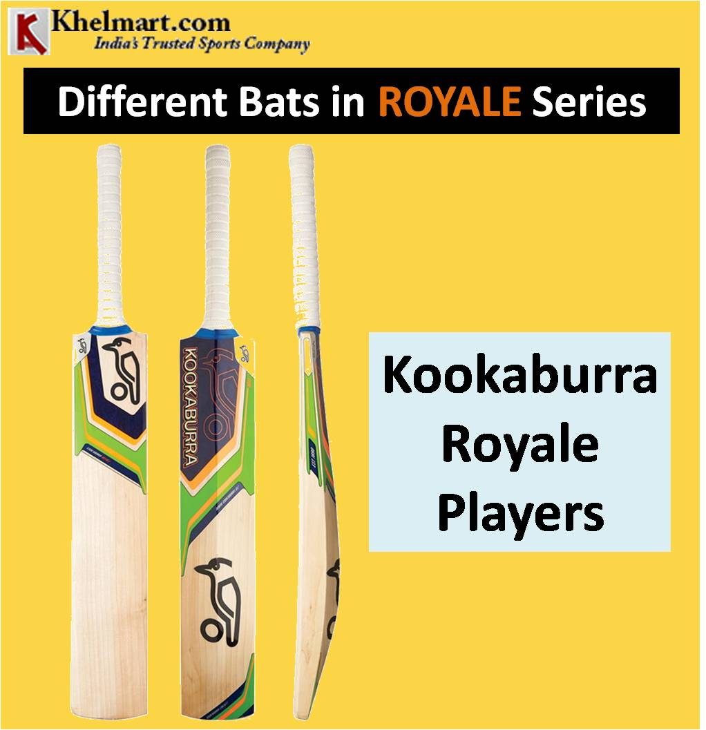 Different Bats in ROYALE Series