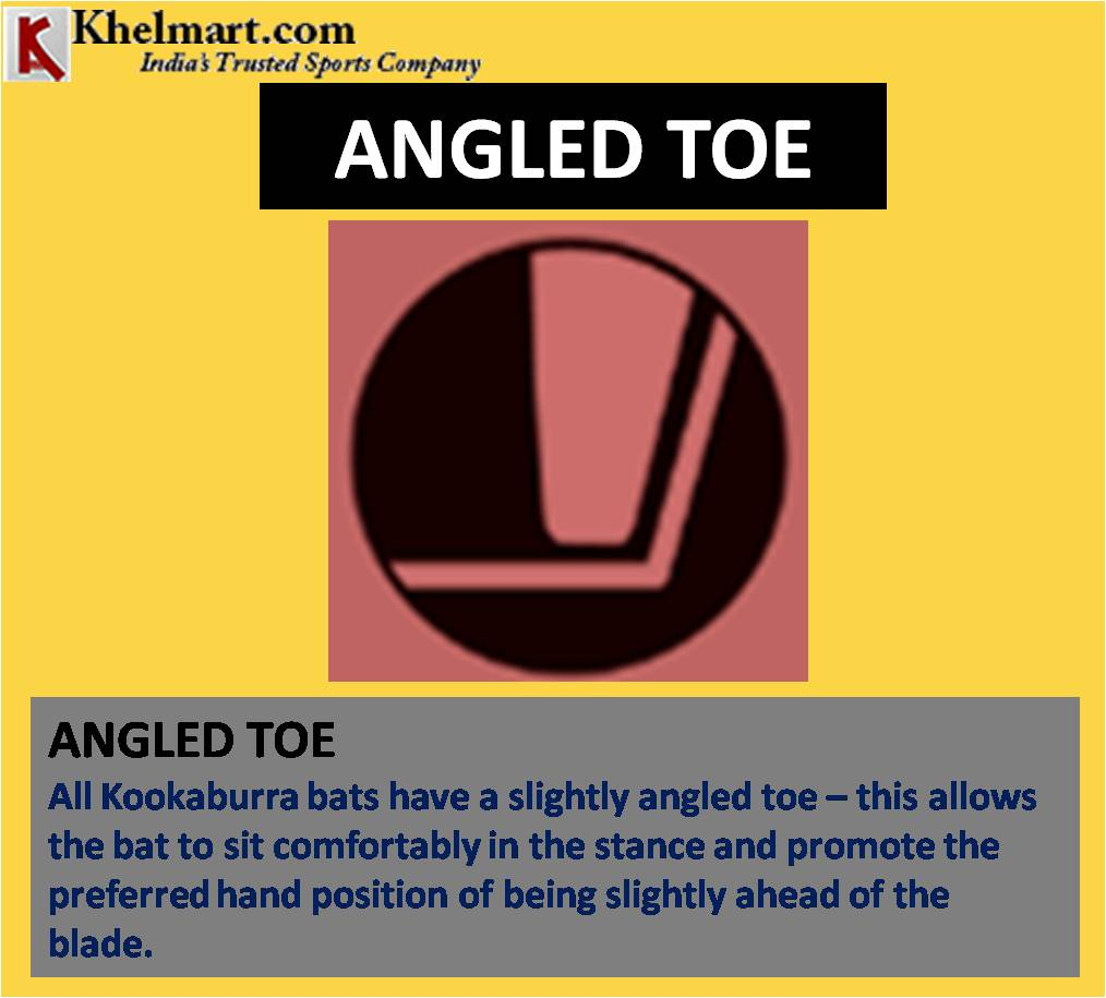 KOOKABURRA ANGLED TOE CRICKET BAT TECHNOLOGY_6