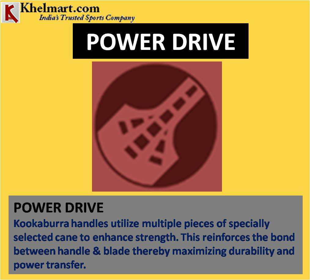 KOOKABURRA POWER DRIVE CRICKET BAT TECHNOLOGY_5