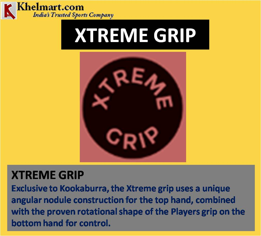 KOOKABURRA XTREME GRIP CRICKET BAT TECHNOLOGY_9