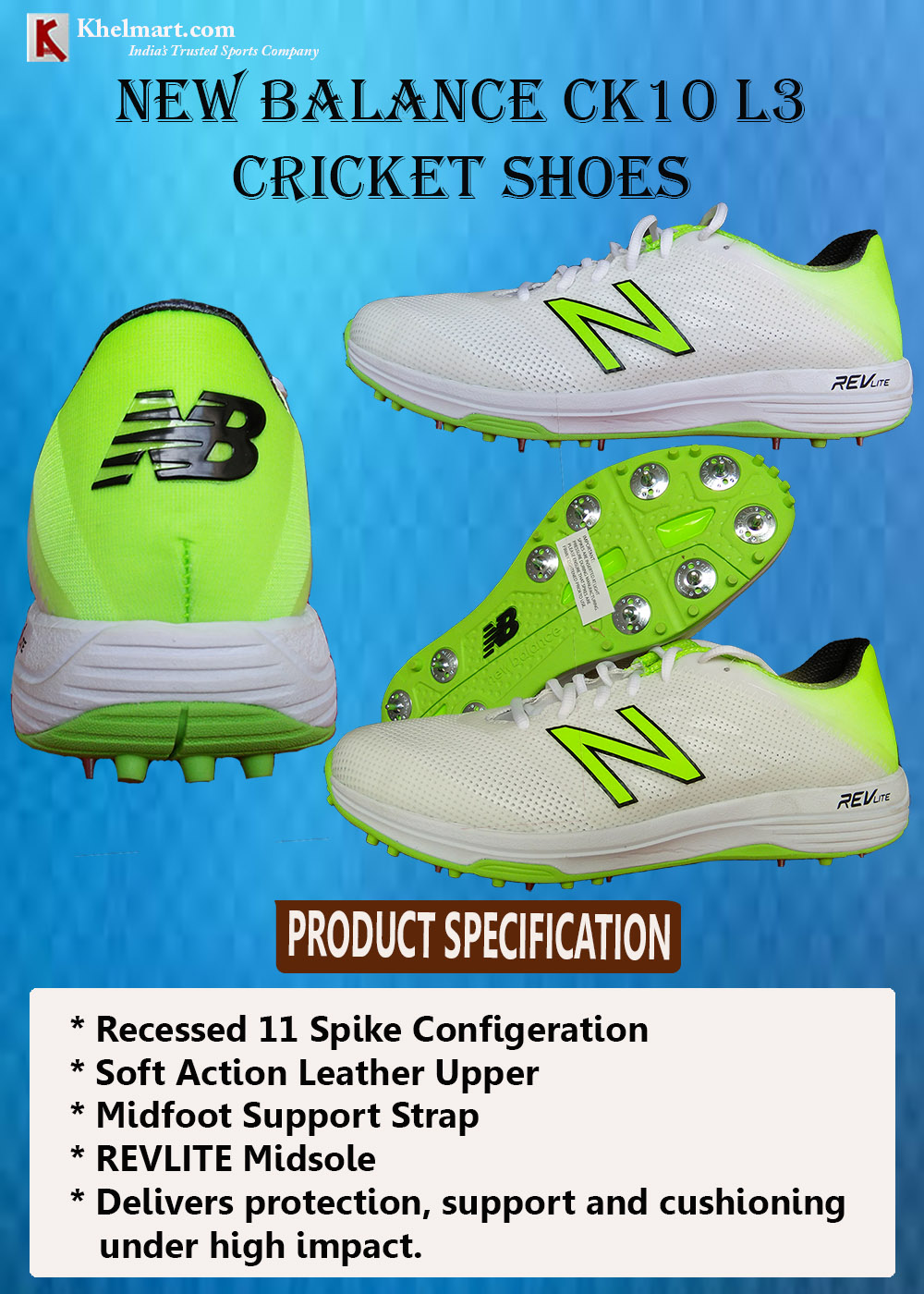 New Balance CK10 L3 Cricket Shoes_6