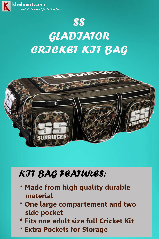 SS Gladiator Cricket Kit Bag