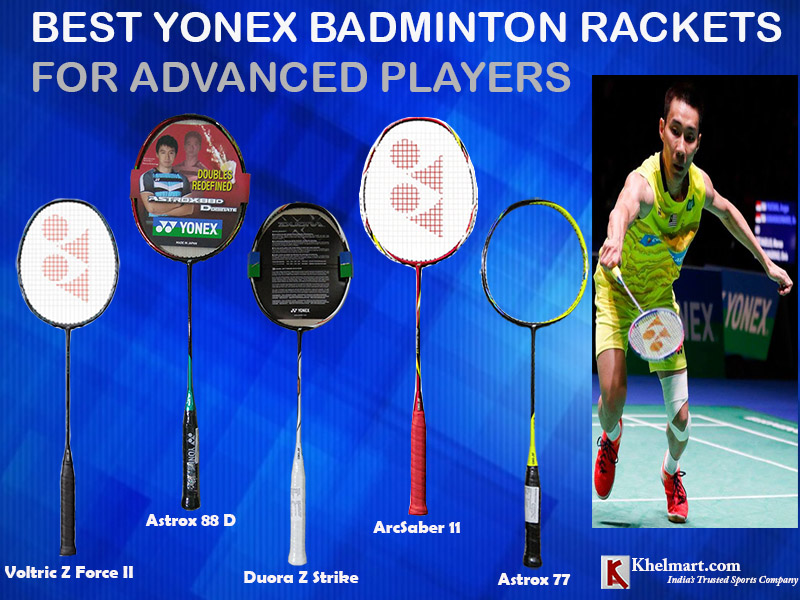 Best Yonex Badminton Rackets For Advanced Players