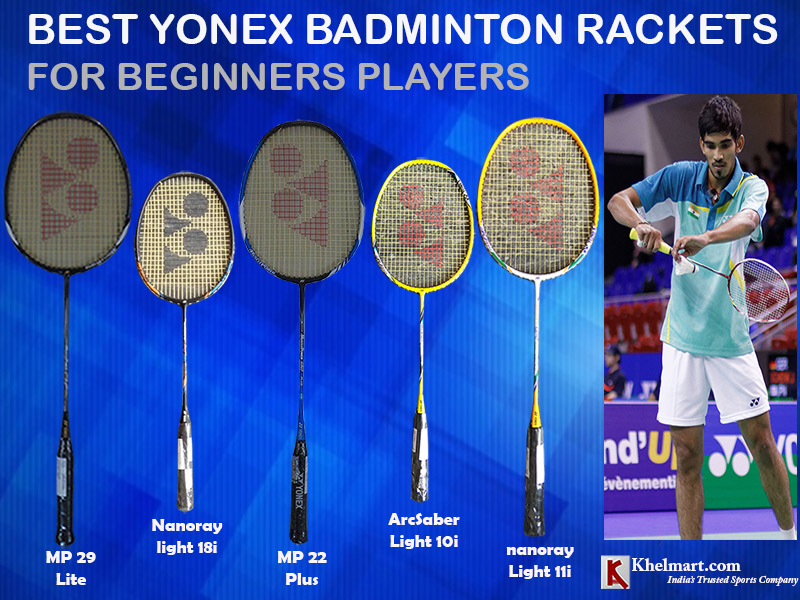 Best Yonex Badminton Rackets For Beginners Players
