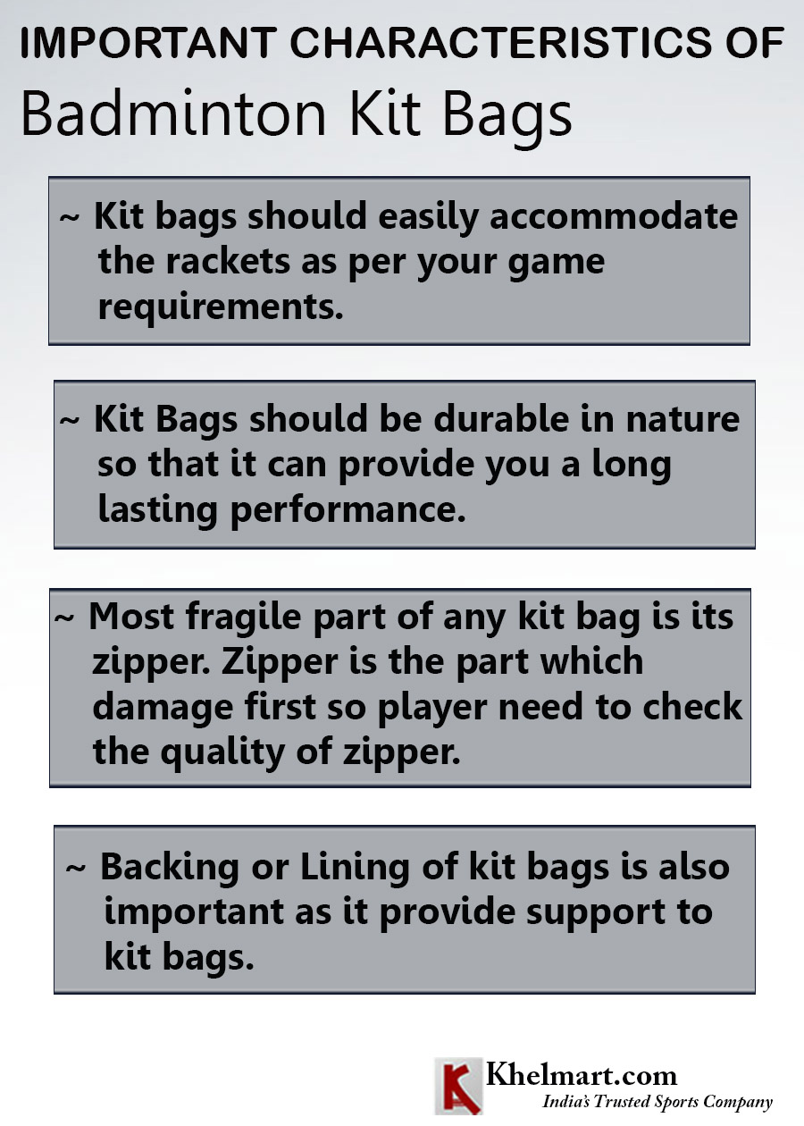 IMPORTANT CHARACTERISTICS OF BADMINTON KIT BAG_2