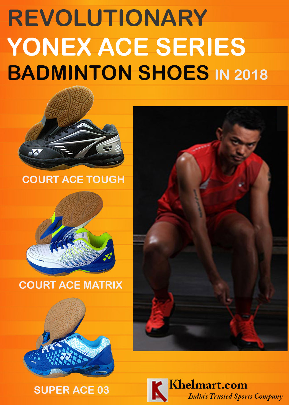 Revolutionary Yonex ACE Series Badminton Shoes In 2018_1