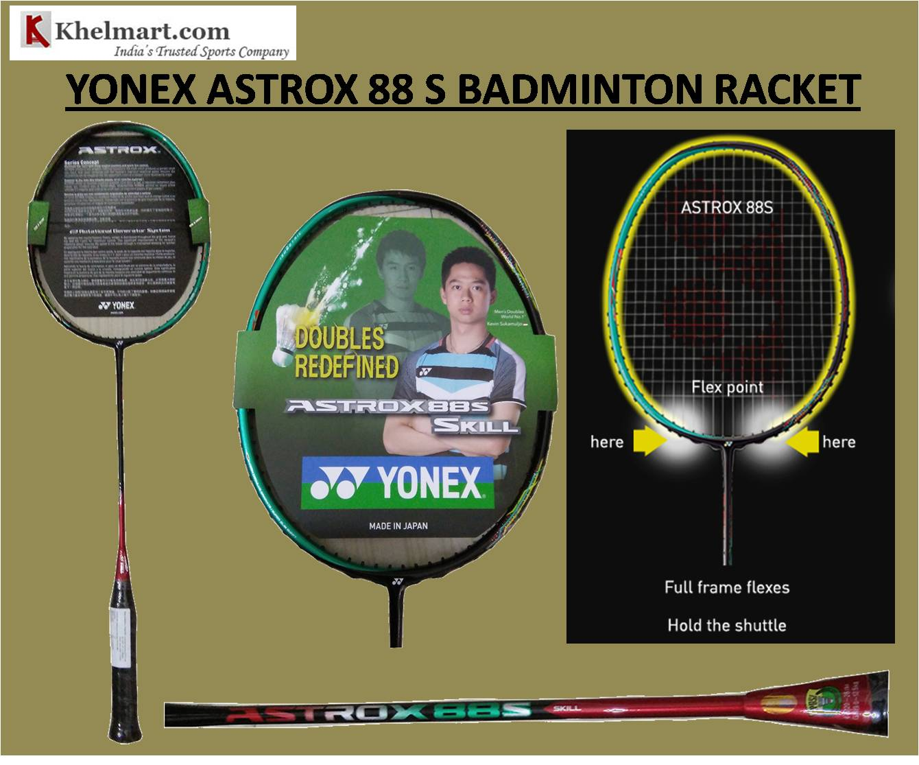Comparison of Astrox 88 S VS Astrox 88 D Badminton Rackets