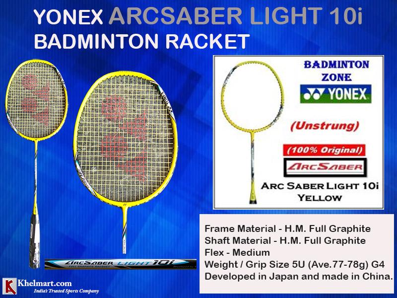 Yonex ArcSaber Light 10i Badminton Racket_15