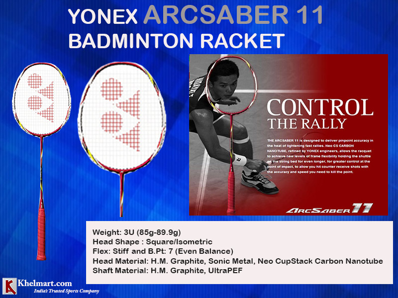 Yonex Arcsaber 11 Badminton Racket_4