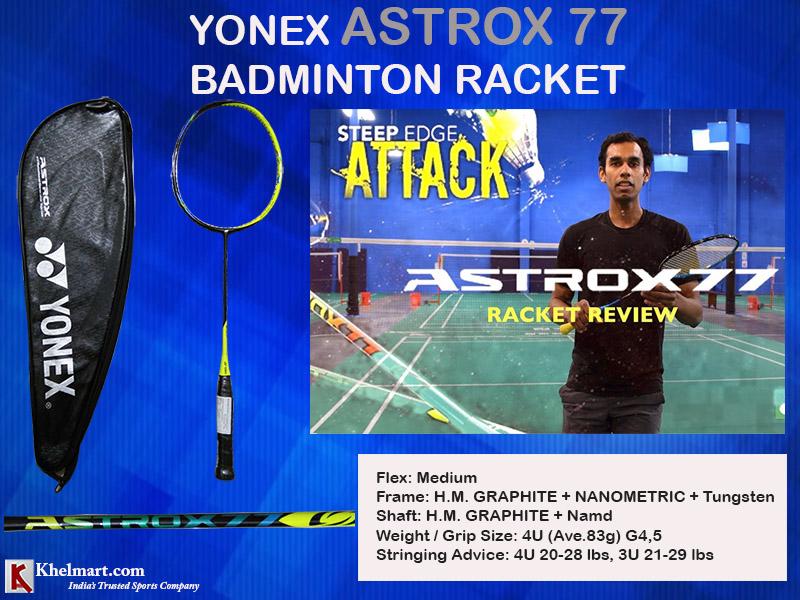 Yonex Astrox 77 Badminton Racket_5
