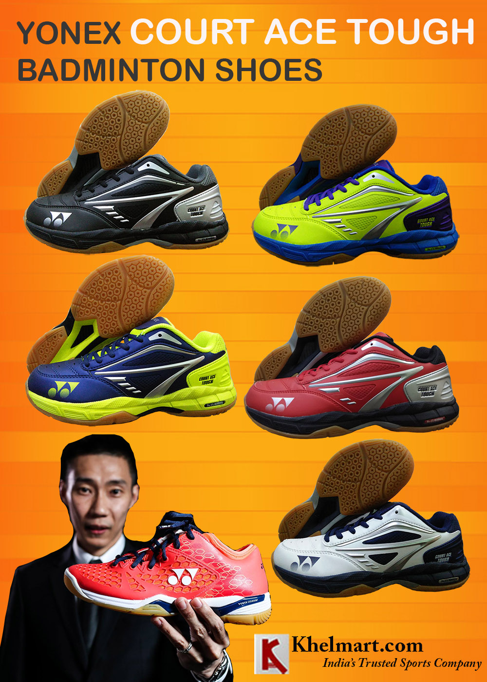 Yonex Court ACE Tough Badminton Shoes_4