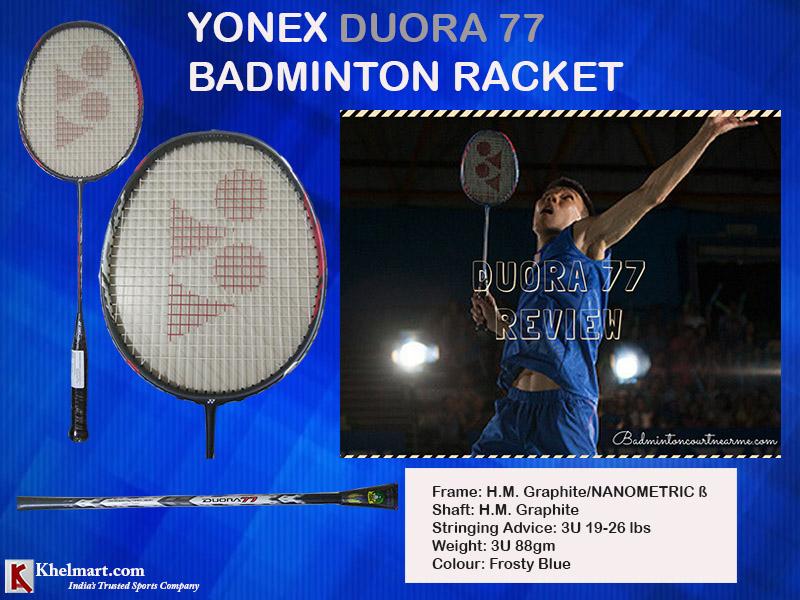 Yonex Duora 77 Badminton Racket_10