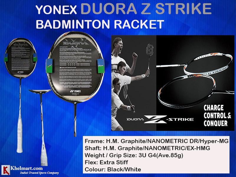 Yonex Duora Z Strike Badminton Racket_3