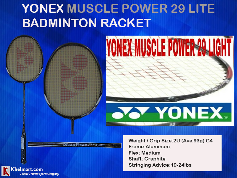 Yonex Muscle Power 29 Lite Badminton Racket_12
