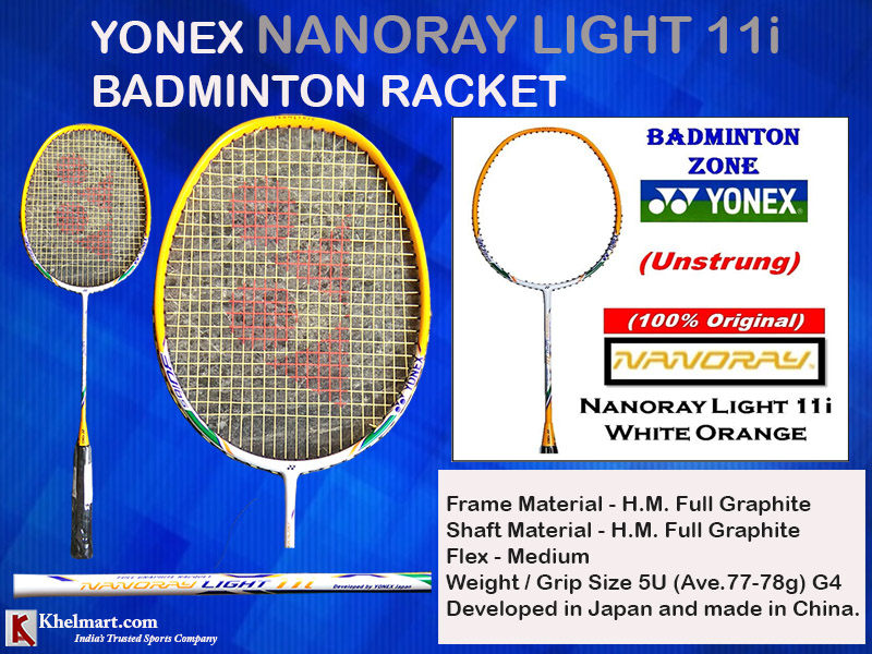Yonex Nanoray Light 11i Badminton Racket_16