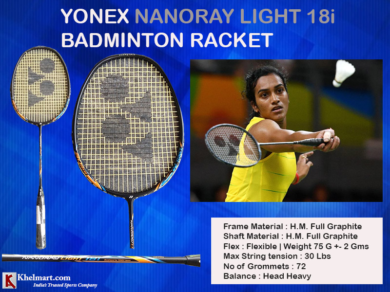 Yonex Nanoray Light 18i Badminton Racket_13