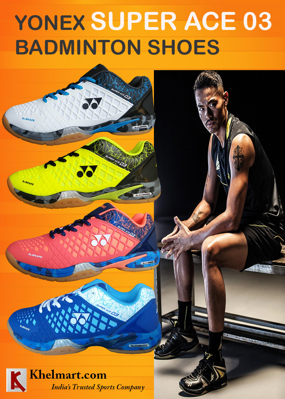 Yonex Super ACE 03 Badminton Shoes_3