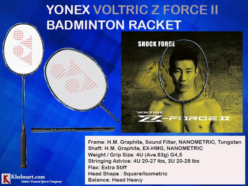 Yonex Voltric Z Force II Racket_1