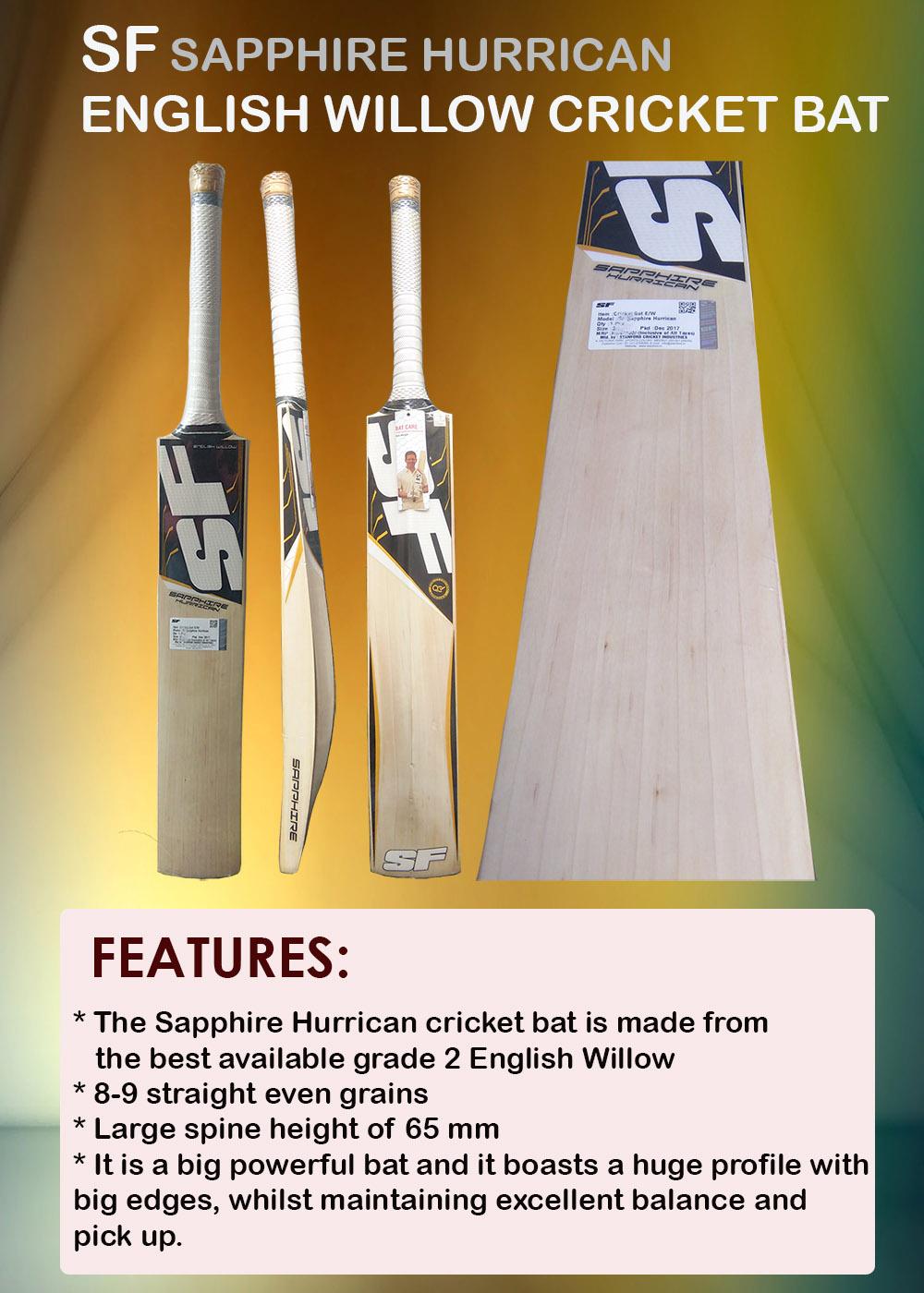 SF Sapphire Hurrican bat