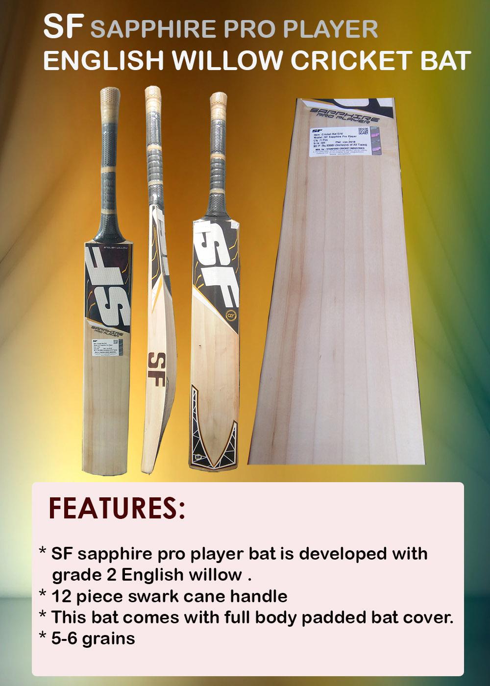 SF Sapphire Pro Player bat
