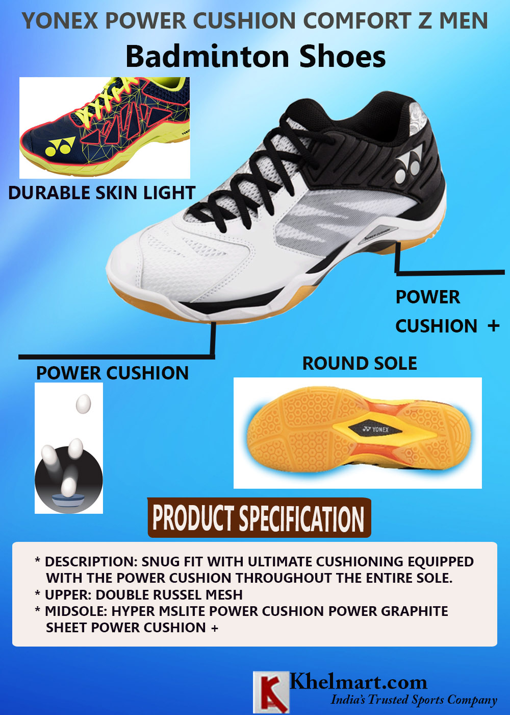 YONEX POWER CUSHION COMFORT Z MEN_5