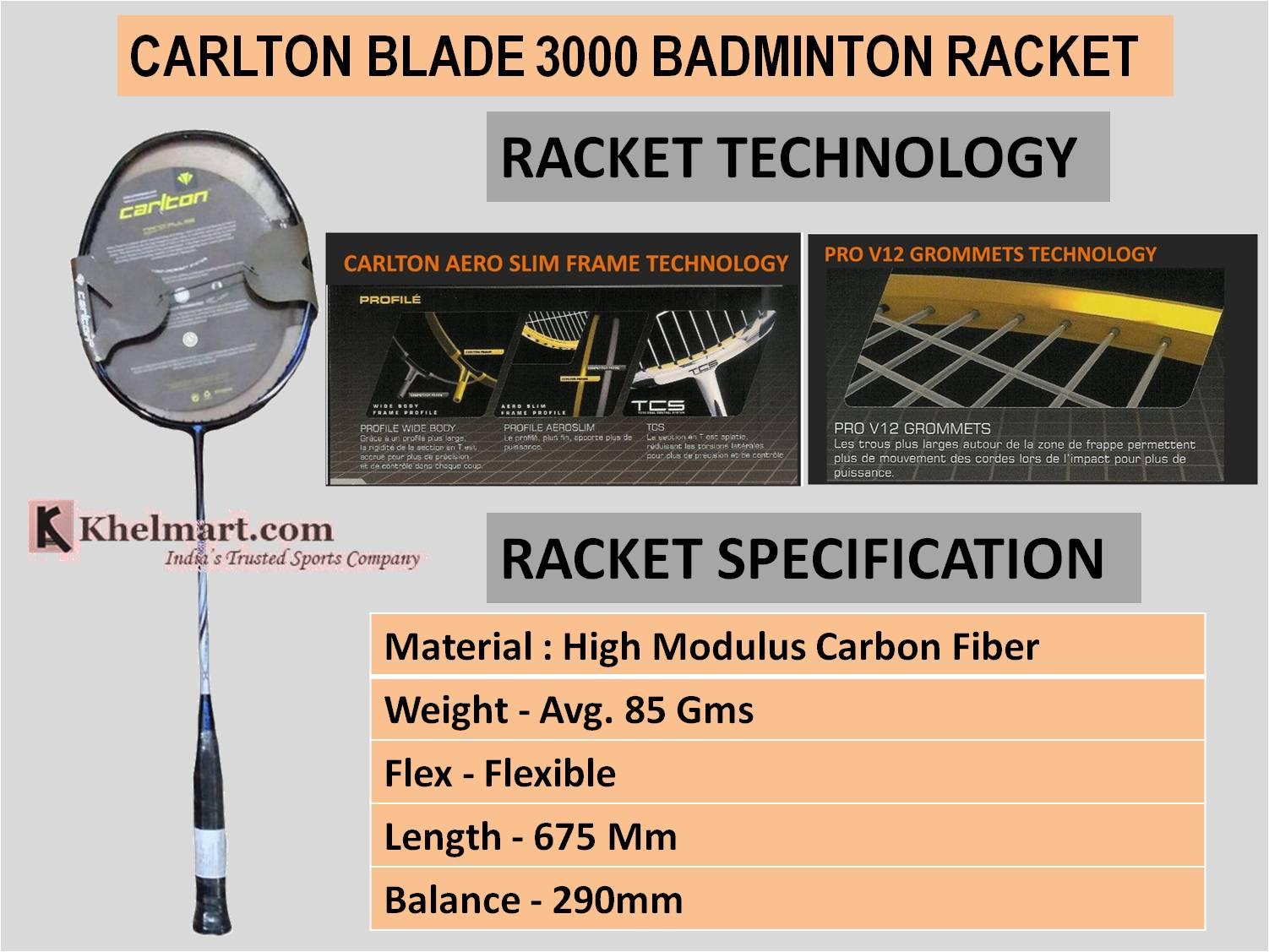 CARLTON_BLADE_3000_BADMINTON_RACKET