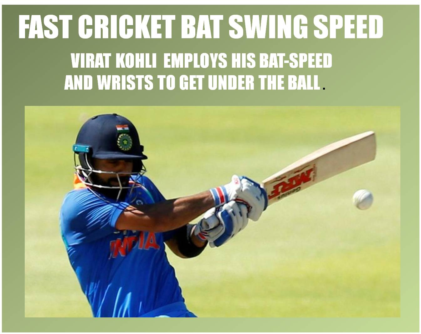MRF_VIRAT_KHOLI_PLAYING_STYLE_FAST_CRICKET_BAT_SWING_SPEED