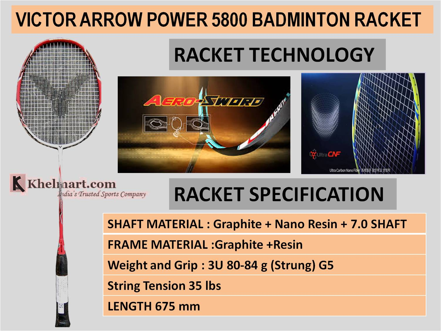 VICTOR_ARROW_POWER_5800_BADMINTON_RACKET
