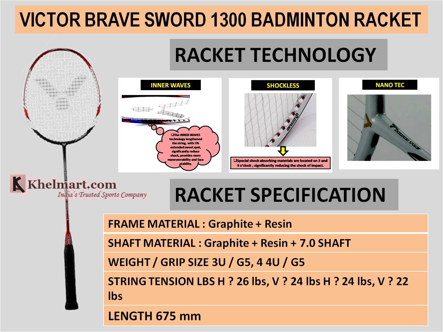 VICTOR_BRAVE_SWORD_1300_BADMINTON_RACKET