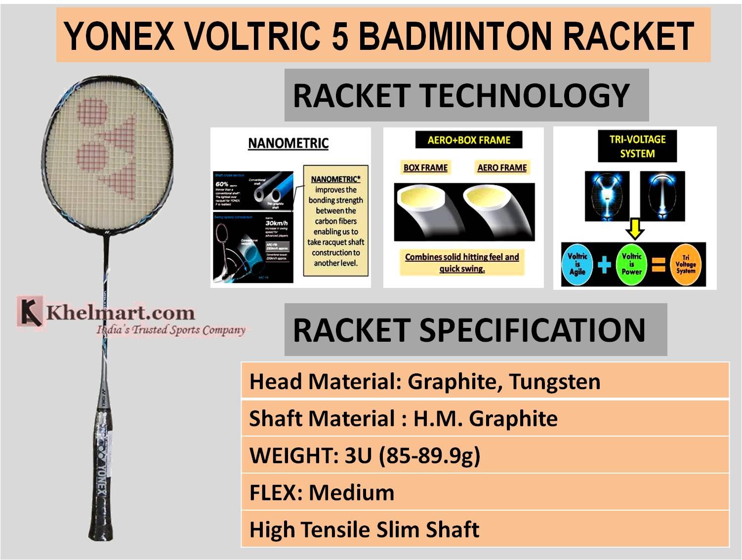 YONEX_VOLTRIC_5_BADMINTON_RACKET
