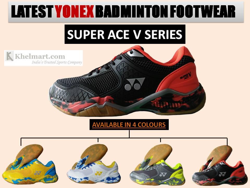 yonex super ace v badminton shoes cheap